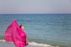 Ritratto di estate sulla spiaggia Immagini Stock