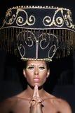 Ritratto di fascino di bella donna Immagine Stock