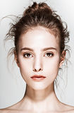 Ritratto di fascino di bello modello della donna con Immagine Stock