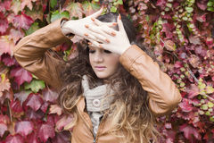 Ritratto di favola di autunno Fotografia Stock Libera da Diritti