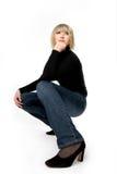 Ritratto di forte donna Fotografia Stock Libera da Diritti