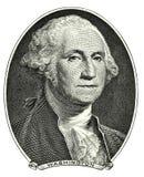 Ritratto di George Washington Fotografie Stock Libere da Diritti