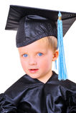 Ritratto di giovane allievo Fotografia Stock