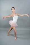 Ritratto di giovane ballerin Fotografie Stock Libere da Diritti