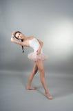 Ritratto di giovane ballerin Immagini Stock