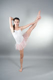 Ritratto di giovane ballerin Immagine Stock