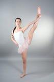 Ritratto di giovane ballerin Fotografie Stock