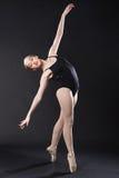Ritratto di giovane ballerino di balletto Immagini Stock Libere da Diritti
