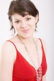 Ritratto di giovane, bella donna Fotografia Stock Libera da Diritti