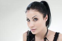 Ritratto di giovane bella ragazza fotografia stock