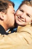 Ritratto di giovane coppia Immagine Stock