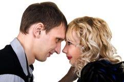 Ritratto di giovane coppia felice Immagine Stock Libera da Diritti