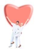 Ritratto di giovane coppia romantica Fotografie Stock