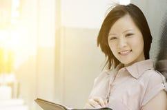 Ritratto di giovane dirigente di donna asiatico Immagine Stock
