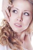 Ritratto di giovane donna Immagini Stock