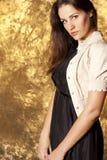 Ritratto di giovane donna Fotografie Stock