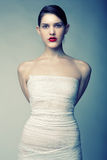 Ritratto di giovane donna Immagine Stock