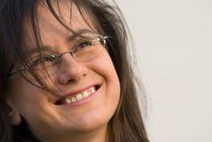 Ritratto di giovane donna Immagini Stock Libere da Diritti