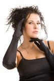 Ritratto di giovane donna Fotografia Stock Libera da Diritti