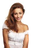 Ritratto di giovane donna attraente fotografie stock