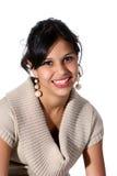 Ritratto di giovane donna attraente Immagini Stock Libere da Diritti