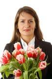 Ritratto di giovane donna di affari Immagini Stock