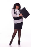 Ritratto di giovane donna di affari Immagine Stock