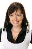 Ritratto di giovane donna di affari fotografie stock libere da diritti