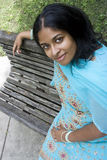 Ritratto di giovane donna indiana Fotografia Stock Libera da Diritti