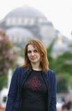 Ritratto di giovane donna, Istambul Immagini Stock Libere da Diritti