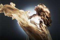 Ritratto di giovane donna sessuale Fotografie Stock