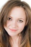 Ritratto di giovane donna sorridente fotografie stock