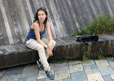 Ritratto di giovane donna sveglia Immagine Stock Libera da Diritti
