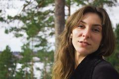 Ritratto di giovane femmina Immagini Stock Libere da Diritti