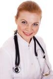 Ritratto di giovane medico sorridente Immagine Stock Libera da Diritti
