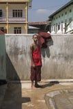 Ritratto di giovane monaco Immagine Stock Libera da Diritti