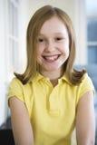 Ritratto di giovane ragazza bionda Fotografie Stock