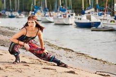 Ritratto di giovane ragazza di hippy immagine stock