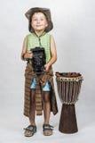 Ritratto di giovane ragazzo Fotografie Stock