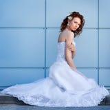 Ritratto di giovane sposa Fotografie Stock Libere da Diritti