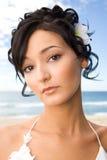 Ritratto di giovane sposa Fotografia Stock
