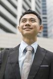 Ritratto di giovane uomo asiatico di affari Fotografia Stock
