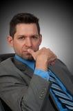 Ritratto dell'uomo di Businuss Fotografie Stock Libere da Diritti