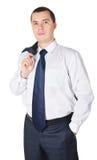Ritratto di giovane uomo d'affari Immagine Stock Libera da Diritti
