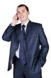 Ritratto di giovane uomo d'affari Fotografie Stock Libere da Diritti