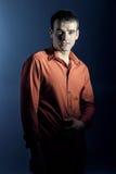 Ritratto di giovane uomo d'affari fotografia stock libera da diritti