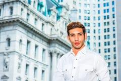 Ritratto di giovane uomo d'affari americano Immagini Stock Libere da Diritti