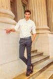 Ritratto di giovane uomo d'affari americano Fotografia Stock Libera da Diritti