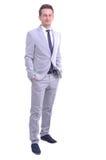 Ritratto di giovane uomo d'affari attraente Immagine Stock Libera da Diritti