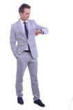 Ritratto di giovane uomo d'affari attraente Fotografia Stock Libera da Diritti